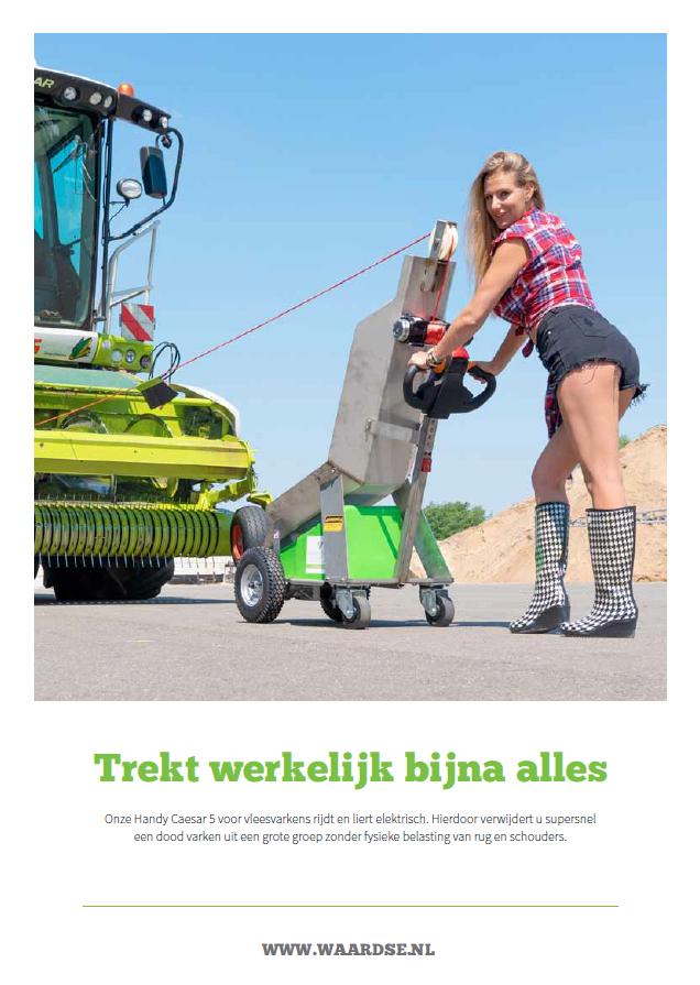 De foldere falder godt i Holland!